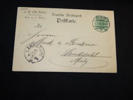 Germany 1896 Kirn J.G.Ott Sohn Business Card__(L-28820) - Briefe U. Dokumente