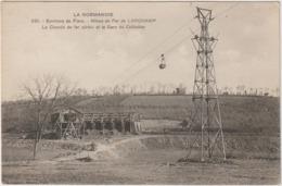 Orne : Env.  De TINCHEBRAY - Flers :  LARCHAMP : Les  Mines , Chemin De  Fer   Aérien , Gare Du  Châtellier - France