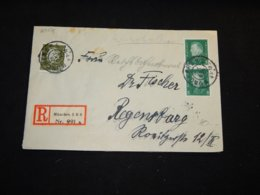 Germany 1929 Munchen Registered Cover__(L-29071) - Deutschland