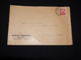 Germany 1936 Bardenberg Aachener Knappschaft Business Cover__(L-29412) - Lettres & Documents