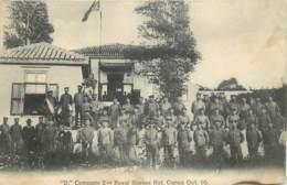 Grèce - Crete - Candia - D Company 2nd Royal Sussex Rgt Canea Oct? 05 - Tout Petit Défaut - Griechenland