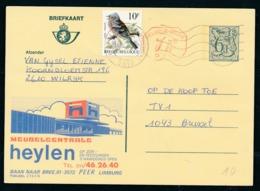 PUBLIBEL Nr 2763N - Meubelcentrale Heylen - Entiers Postaux