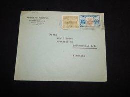 Guatemala 1937 Rudolfo Reiffen Business Cover To Germany__(L-30502) - Guatemala