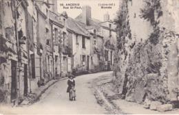 ANCENIS - Rue Saint-Paul - Montée - Enfants - TBE - Ancenis
