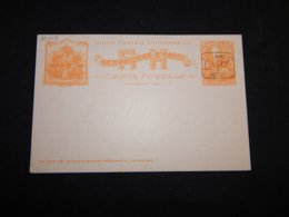 Haiti 2c Orange Overprint Unused Stationery Card__(L-30013) - Haïti