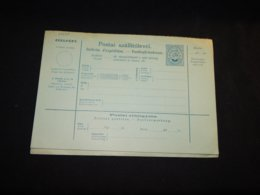 Hungary 5kr Blue Unused Stationery Card__(L-29297) - Ganzsachen