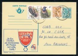 """PUBLIBEL Nr 2785F - Les Vins De Pays - Cachet """"Florennes"""" - Entiers Postaux"""