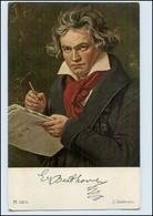 N7733/ Komponisten AK Beethoven  Ackermann Verlag  - Célébrités