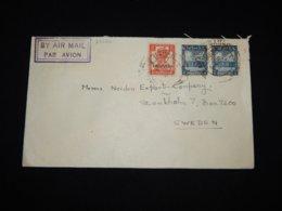 Pakistan 1949 Air Mail Cover To Sweden__(L-29626) - Pakistan