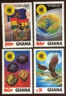 Ghana 1983 Commonwealth Day Birds MNH - Ghana (1957-...)