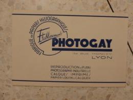 BUVARD PHOTOGAY - Carte Assorbenti