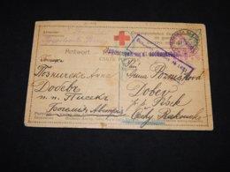 Russia 1917 Red Cross Card__(L-31198) - 1917-1923 Republik & Sowjetunion