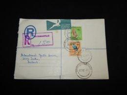 South Africa 1973 Bridgmanville Registered Cover To Finland__(L-30371) - Südafrika (1961-...)