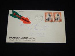 South West Africa 1961 Walvisbaai Business Cover__(L-29595) - Südwestafrika (1923-1990)