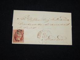 Spain 1853 6cu Red Letter__(L-29459) - 1850-68 Regno: Isabella II