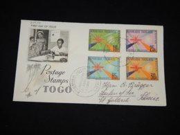 Togo 1962 Fight Against Malaria FDC__(L-29534) - Togo (1960-...)