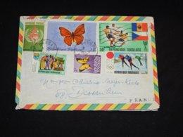 Togo 1972 Cover To France__(L-29821) - Togo (1960-...)