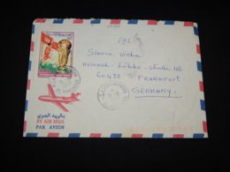 Tunisia 1998 Football Stamp Cover To Germany__(L-29766) - Tunisia (1956-...)