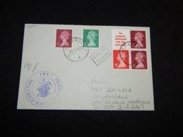 UK 1980 Oostende R.M.T. Princess Marie Christine Cover__(L-30400) - 1952-.... (Elizabeth II)