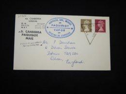 UK 1982 London S.S.Canberra Paquebot Cover__(L-29868) - 1952-.... (Elizabeth II)