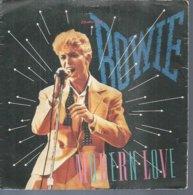"""45 Tours SP - DAVID BOWIE    - EMI 1867627  """" MODERN LOVE  """" + 1 - Vinyl Records"""