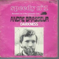 "45 Tours SP - ANDRE BRASSEUR    - RCA 49864  "" SPEEDY N° 1  "" + 1 - Vinyl Records"