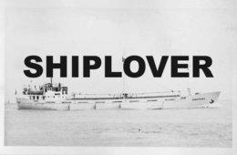 Photo Ancienne Cargo Français CHANTENAY - Bateau / Ship / Schiff - Boats
