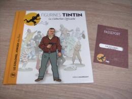 Tintin La Collection Officielle 96 Le Colonel Jorgen + Passeport - Tintin