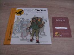 Tintin La Collection Officielle 109 Tharkey Le Fidèle Sherpa + Passeport - Tintin