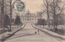 MAISONS-LAFFITTE - Avenue Richelieu Et Le Château - Maisons-Laffitte