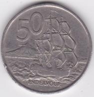 New Zealand. 50 Cents 1967 Elizabeth II. Copper-Nickel. KM# 37.1 - New Zealand