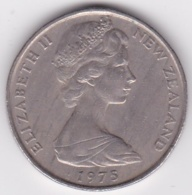 New Zealand. 50 Cents 1975 Elizabeth II. Copper-Nickel. KM# 37.1 - New Zealand
