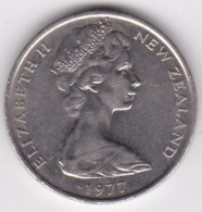 New Zealand. 20 Cents 1977 Elizabeth II. Copper-Nickel. KM# 36.1 - New Zealand