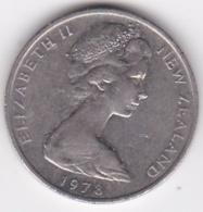 New Zealand. 10 Cents 1978 Elizabeth II. Copper-Nickel. KM# 41.1 - New Zealand