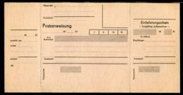DDR / Postanweisung ** (25054) - DDR