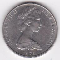 New Zealand. 10 Cents 1979 Elizabeth II. Copper-Nickel. KM# 41.1 - New Zealand