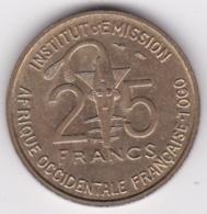 Afrique Occidentale Française Togo 25 Francs 1957 Bronze-Alu. KM# 9. SUP/XF - Togo