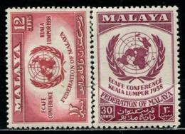 MY0828 Malaya 1958 Kuala Lumpur Peace Talk 2V MNH - Malaysia (1964-...)