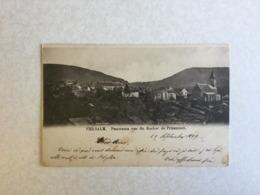 VIELSALM  PANORAMA VUE DU ROCHER DE PRIESMONT  1899 - Vielsalm