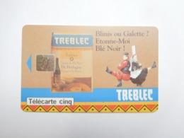 Télécarte Privée , 5U , Treblec , Gn101 - France