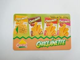 Télécarte Privée , 5U , Gn76 , Craquinette - Frankreich
