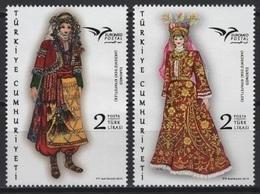 Turkey (2019)  - Set -  /  Joint With Euromed - Dress - Dances - Culture - Costumes - Emissions Communes