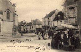 LIGUEIL   - Place  Saint-Martin - France