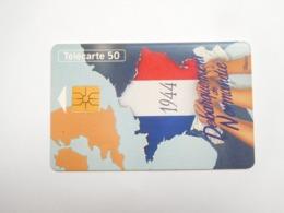 Télécarte Privée , 50U , En1007 , CEF 12 Libérateurs , Cote : 15 Euros - Frankreich