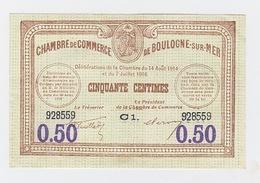 50cts  Gray Et Vesoul Du 14 Août 1914 Pick 23 Uniface - Chambre De Commerce