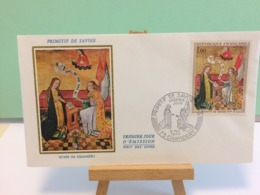 Musée De Chambéry (Primitif De Savoie) - 73 Chambéry - 9.5.1970 FDC 1er Jour Coté 4,50€ - 1970-1979