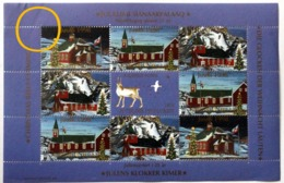 Greenland 1998. Christmas Seals In Sheetlet. MNH(**) ( Lot  Mappe ) - Groenlandia