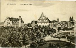 GERMANIA  SACHSEN-ANHALT  WITTENBERG  Blick Auf Die Stadt  Feldpost 1916 - Wittenberg