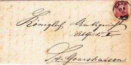 Caub - St.Goarshausen, Brief Von 1875 - Documenti Storici