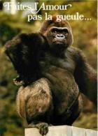 Animaux - Singes - Gorille - Voir Scans Recto-Verso - Singes